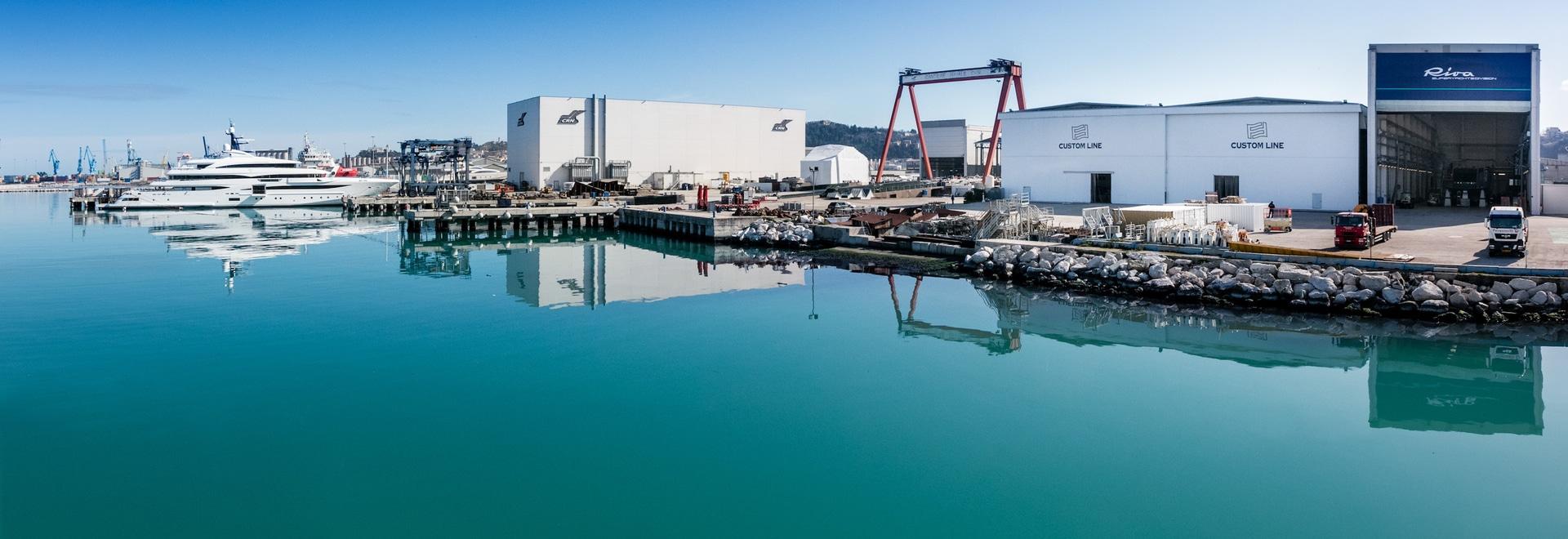 CRN pour établir la nouvelle coutume 60m Nuvolari Lenard-a conçu le yacht de moteur