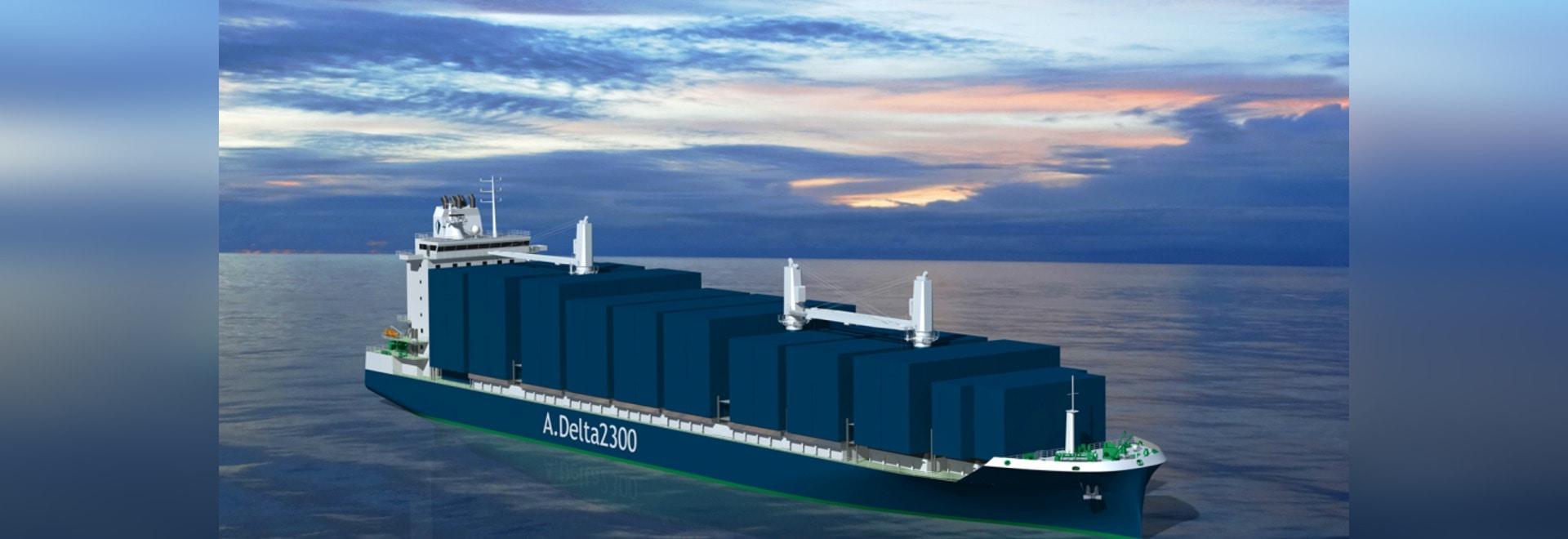 Deltamarin dévoile la nouvelle conception de Boxship