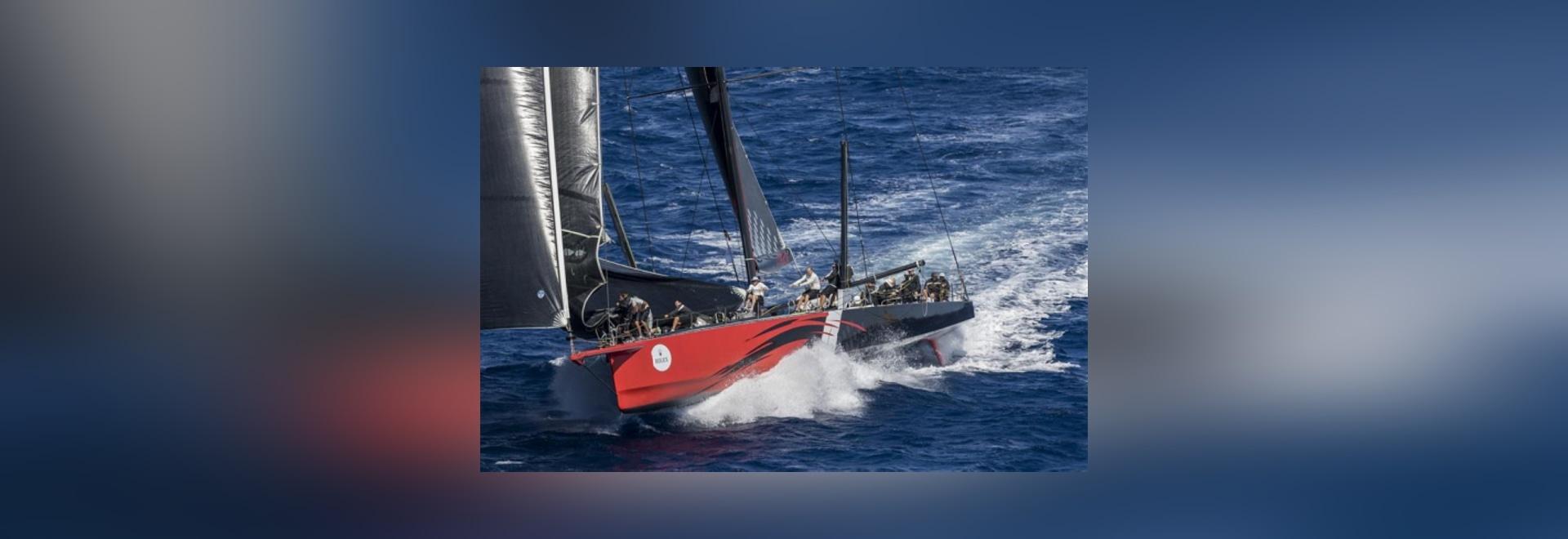 Deuxième jour de la maxi tasse de Rolex de yacht