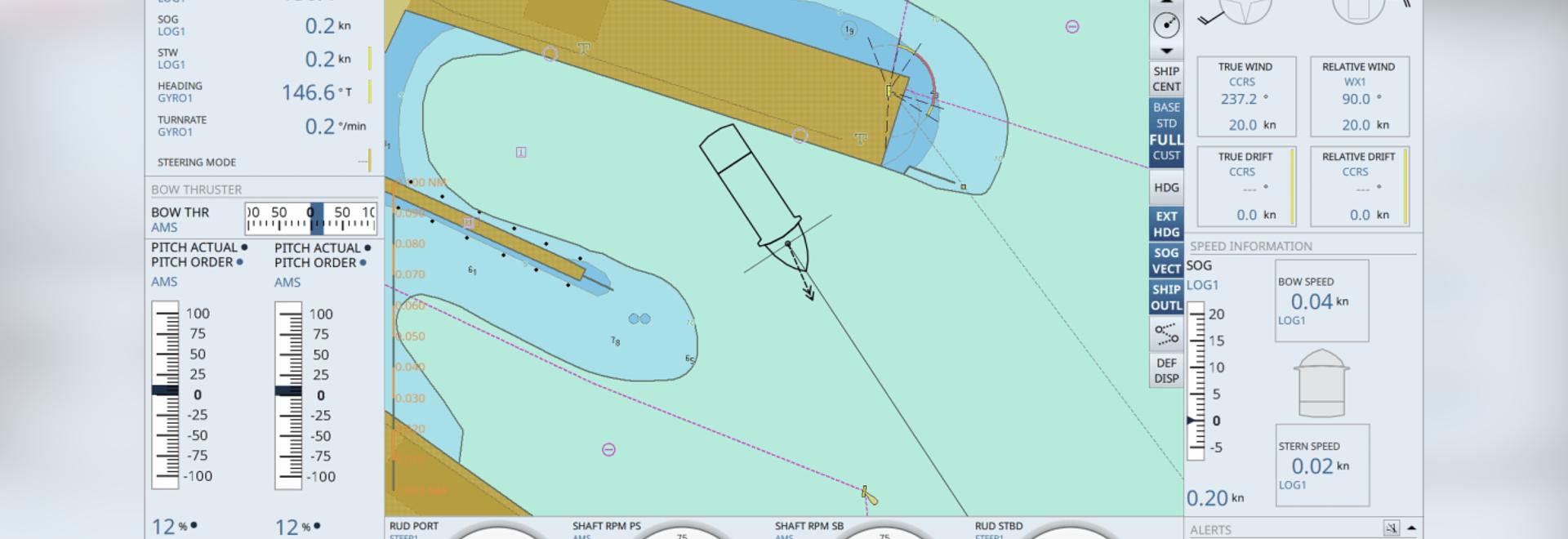 Électronique marine : Un nouvel affichage vise à simplifier l'amarrage des navires