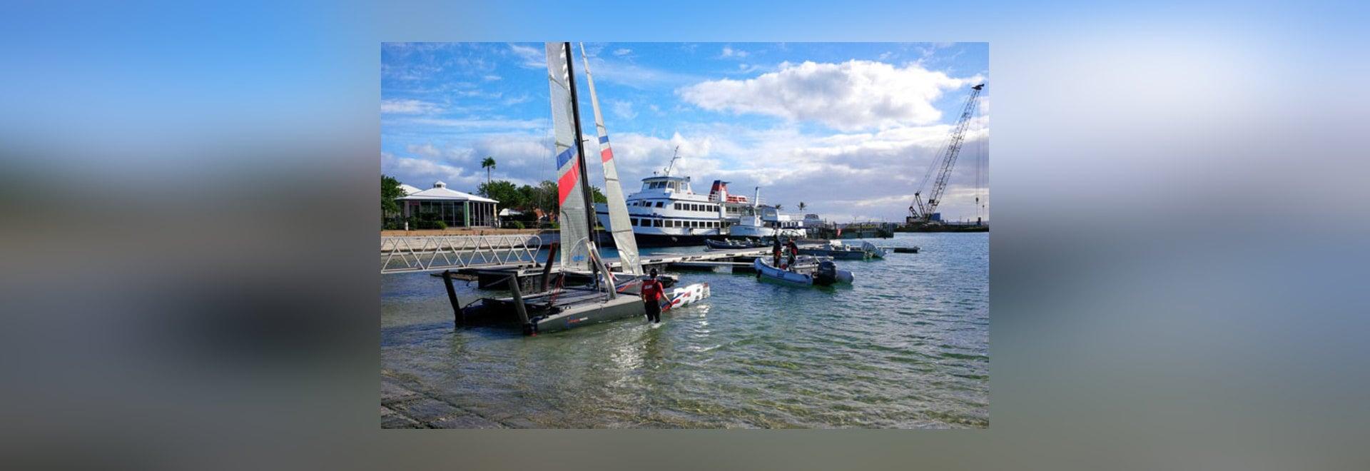 L'emballage de Ben Ainslie arrive en Bermudes pour l'Amérique ? formation de tasse de s