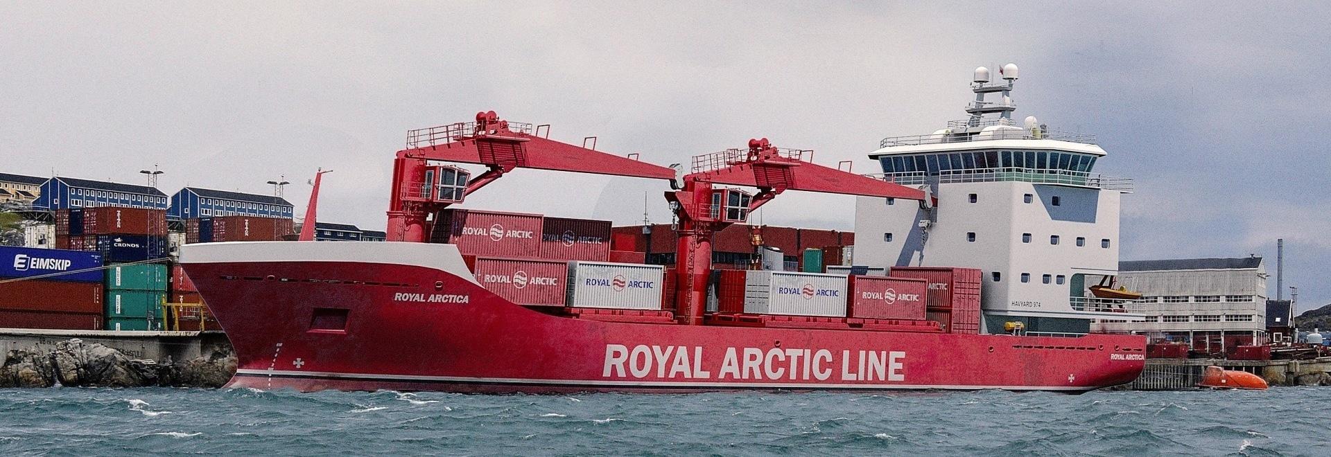 Havyard pour concevoir des bateaux pour la ligne arctique royale