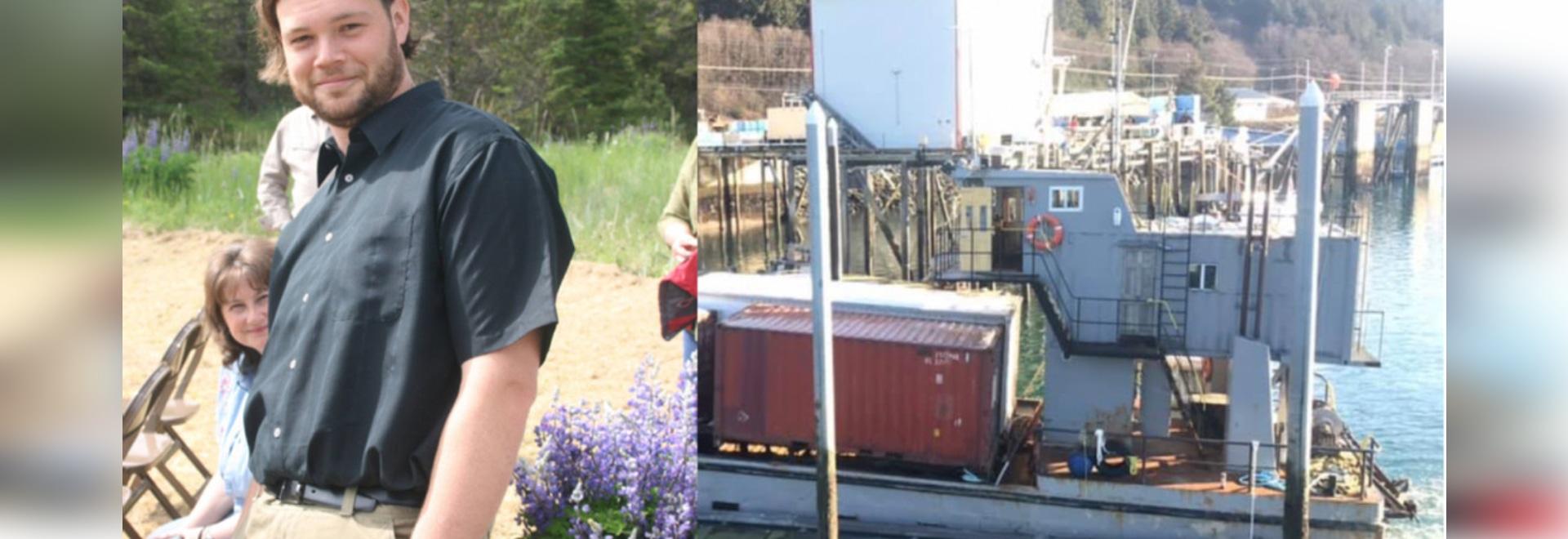 Un homme d'Alaska fait un voyage de 14 heures pour apporter des provisions à sa ville isolée