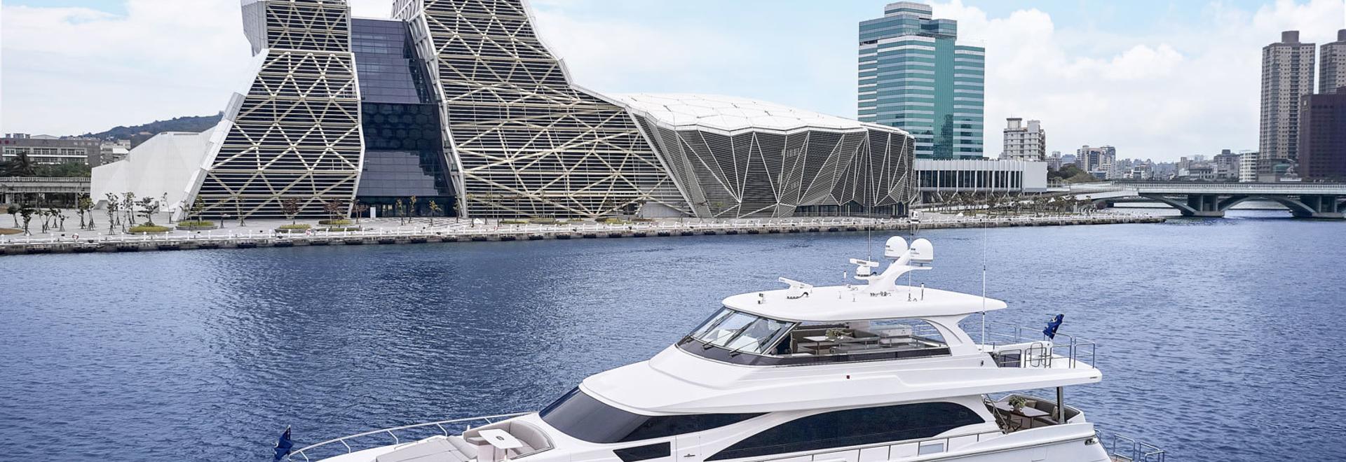 Horizon Yachts dévoile son premier yacht de 26m E81