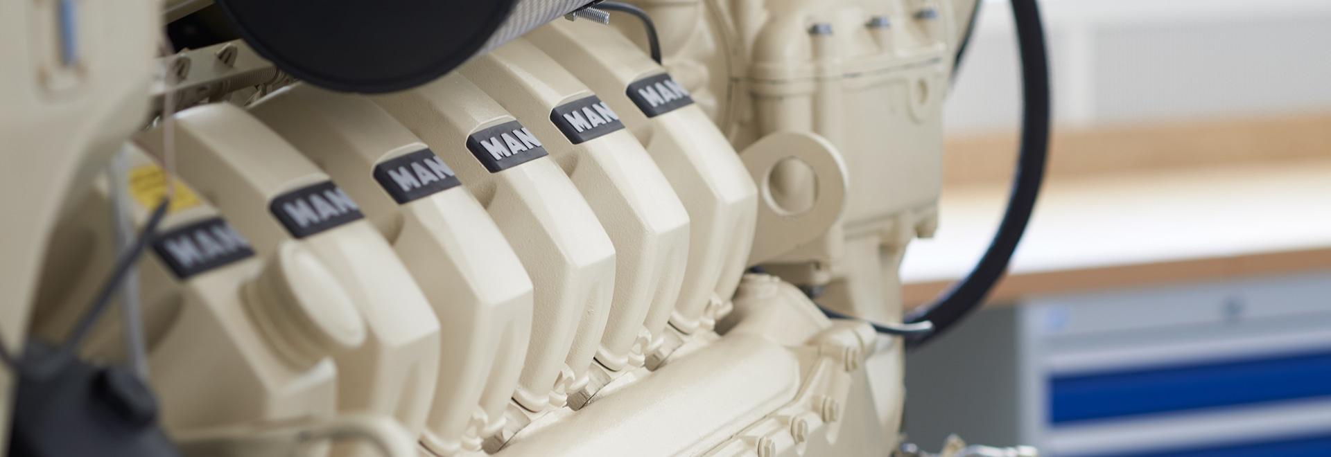 Les moteurs d'HOMME augmente ses ventes et réseau de service pour les moteurs marins en Europe du Nord et en Amérique latine