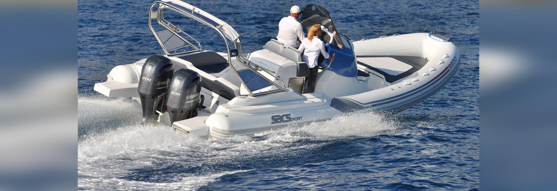 NOUVEAU : bateau gonflable de console centrale par Sacs
