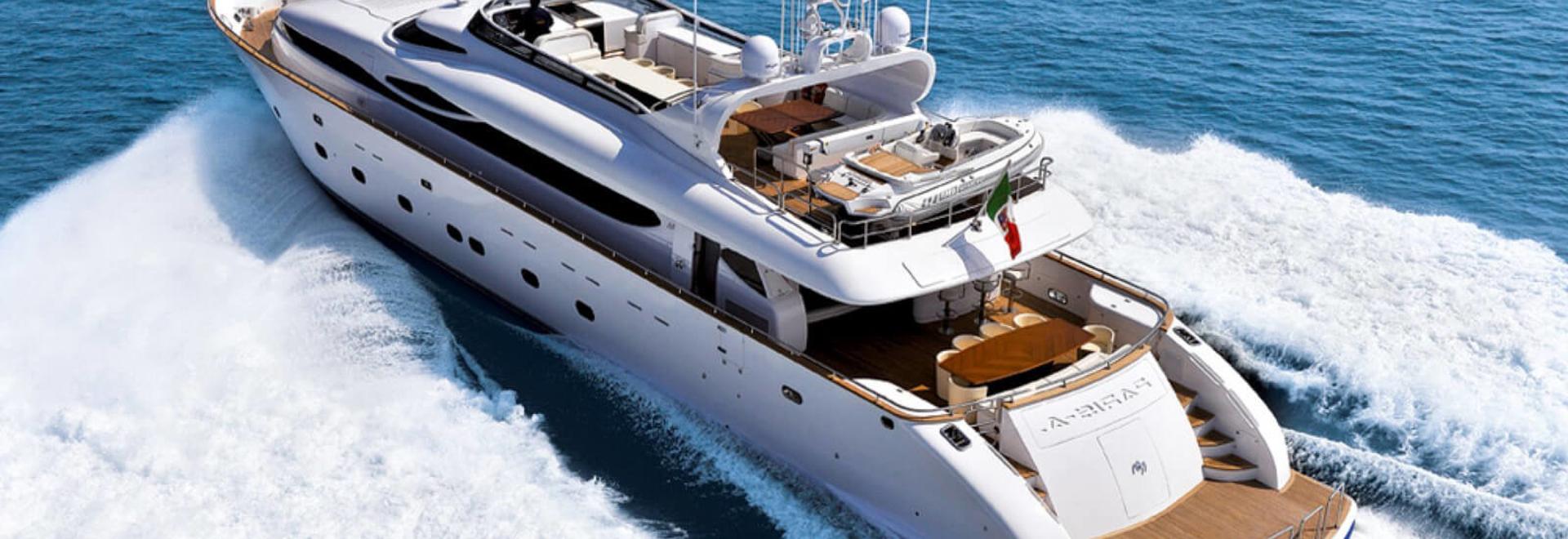 Nouveau sur le marché : Yacht à moteur Maiora de 35 m Paris A