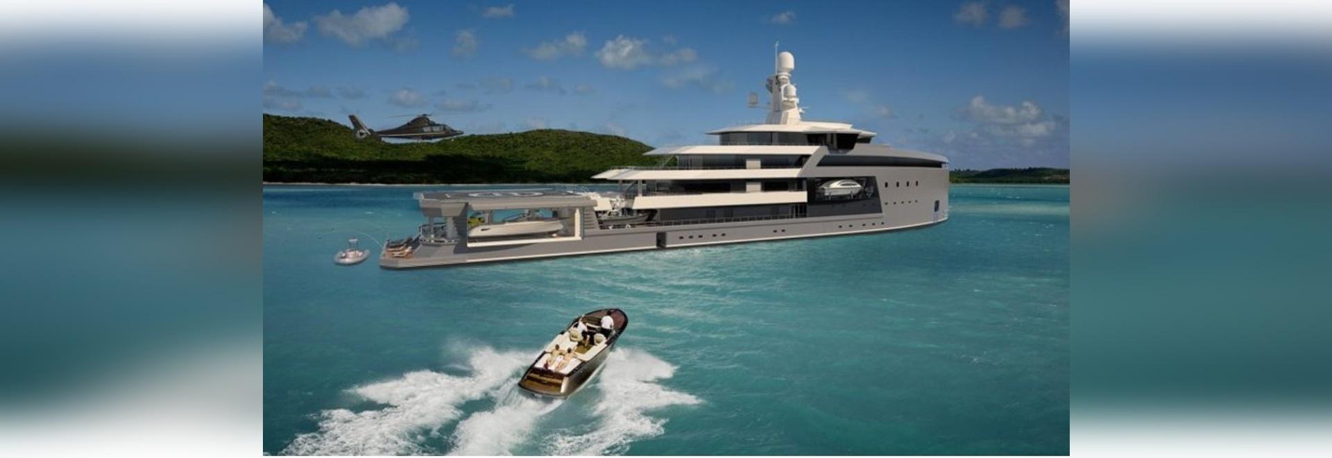 Le premier yacht d'expédition de SeaXplorer de Damen est en construction