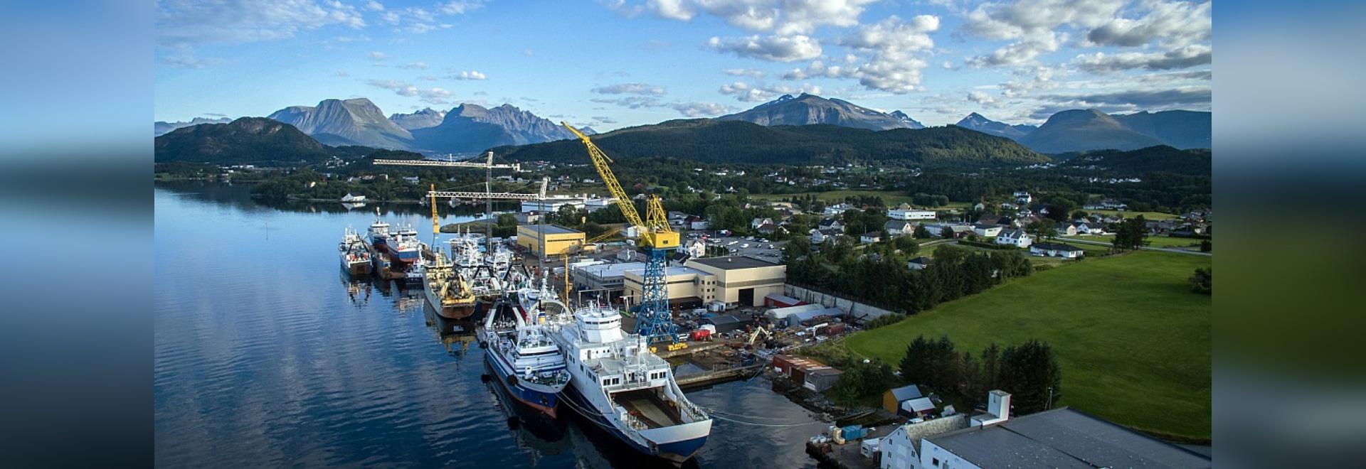 Le projet de HYBRIDShips en Norvège (courtoisie de Fiskerstrand)