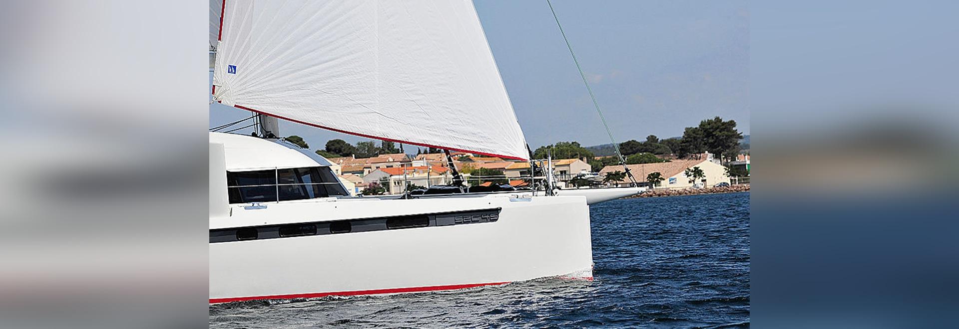 Swiss Catamaran S2C 45 à  Cannes