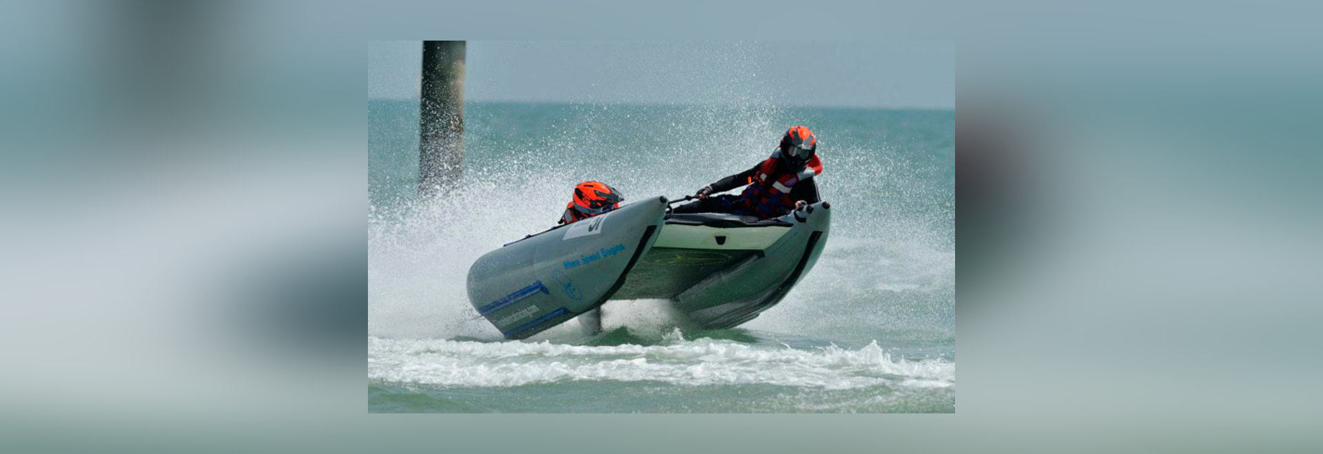 Thundercat emballant dans Boscombe 2014