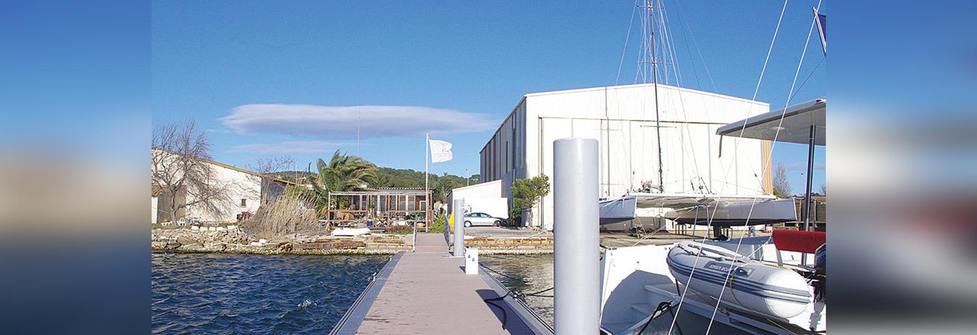 En visite au chantier Swiss Catamaran