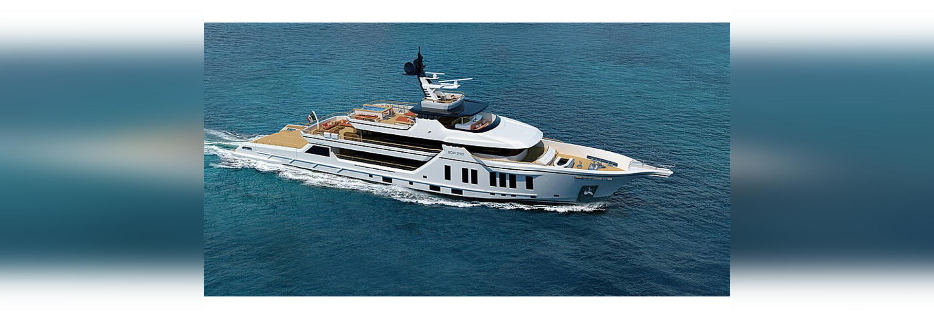 Vittoria Yachts va construire un bateau d'exploration de 54 m Projet Bowsprit