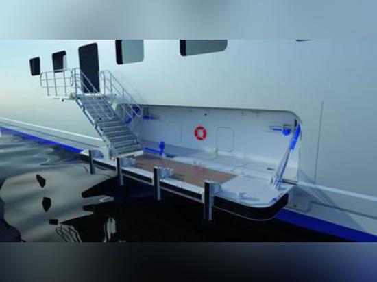 NOUVEAU : porte de coquille latérale/pour des bateaux par le soldat de marine de TTS