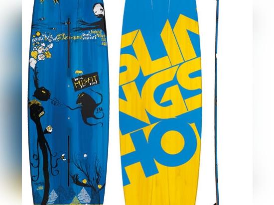 NOUVEAU : jumeau-inclinez le panneau de kitesurf par SlingShot
