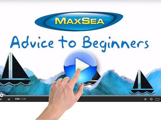 Nouvelle vidéo MaxSea: Conseils pour Débutants