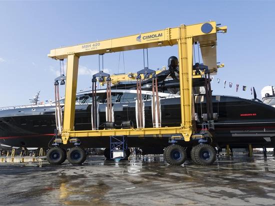 Overmarine lance le 12ème Mangusta 165
