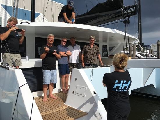 """HH55-01 """"Minnehaha"""" a baptisé en Floride"""