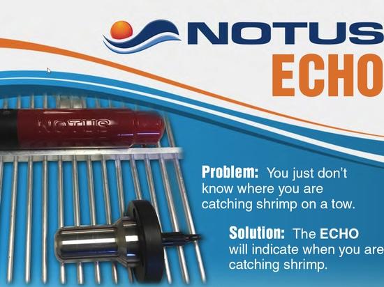 ECHO pour la détection des crevettes