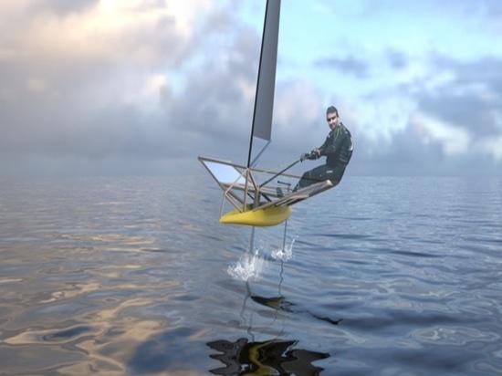 Le projet en bambou de bateau (courtoisie de Guillaume Dupont)