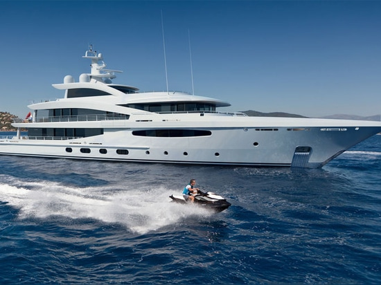 Amels fournit 188 premiers le superyacht hybride Volpini 2