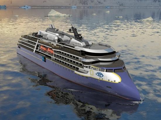 Le nouveau navire suivra la résistance de National Geographic (ci-dessus), qui est programmée pour la livraison d'Ulsteinvik d'Ulstein, Norvège, chantier naval en 2020