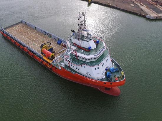 La marine de SEACOR installe la solution hybride de puissance sur OSV dans le Golfe du Mexique