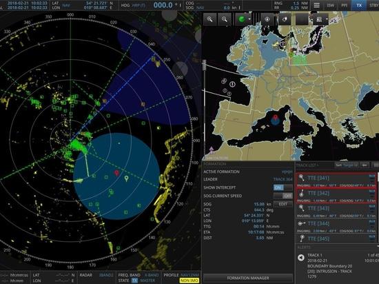 Raytheon Anschütz dévoile le nouveau logiciel de radar naval
