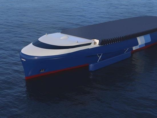 Étapes de NYK dans l'avenir avec le bateau superbe 2050 d'Eco