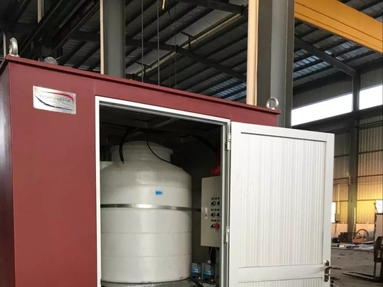 Installation de traitement des eaux usées du chantier naval