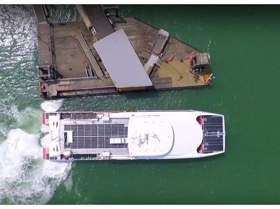 Azurtane lance une nouvelle technologie de positionnement de navires
