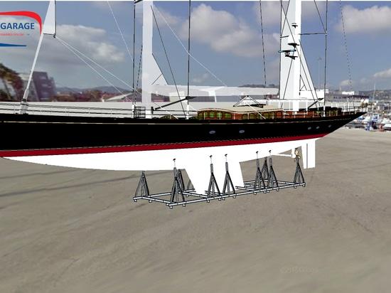 Berceaux modulaires pour yachts