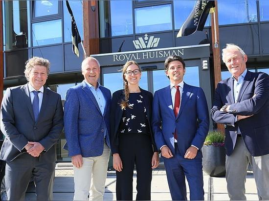 Royal Huisman s'agrandit avec la reprise de l'ancienne usine Holland Jachtbouw