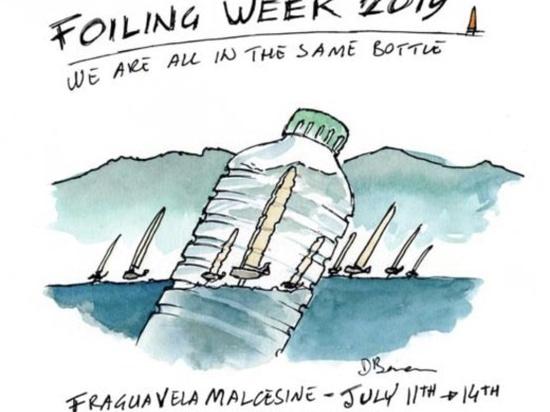 """2019 Foiling Week Garda """"Nous sommes tous dans la même BOUTEILLE"""""""