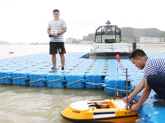 Le premier concours de technique pilote de l'USV s'est tenu à Zhuhai