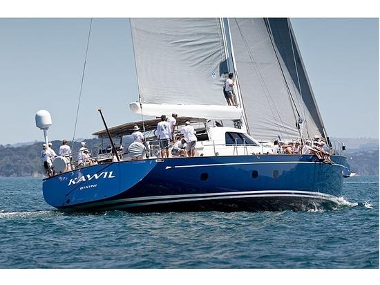 Le voilier de 34 mètres Kawil remporte la Coupe du millénaire de Nouvelle-Zélande 2020