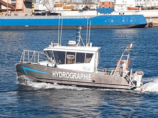 Torqeedo fournit un bateau hydrographique français à propulsion électrique