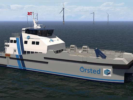 Danfoss Editron choisi pour propulser les premiers navires hybrides de transfert d'équipage au Royaume-Uni