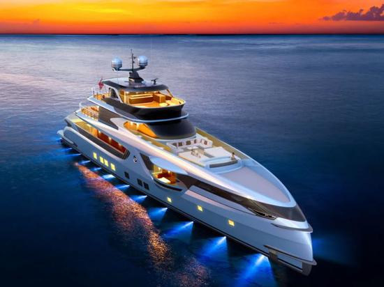Dynamiq dévoile le renouvellement du projet du GTT 165 Yacht