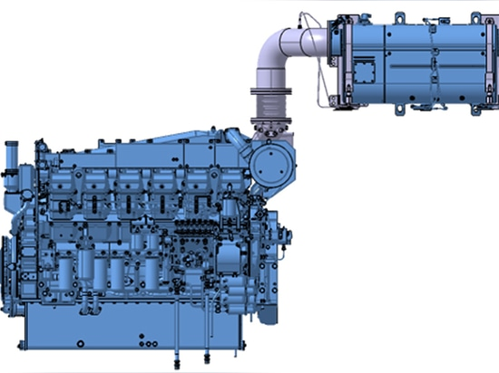 Mitsubishi présente un moteur marin Tier 4 de l'EPA de 1 260 ch