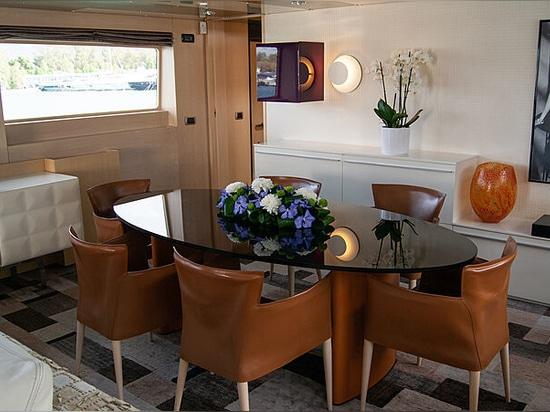 Le yacht à moteur Maraya de 30m de Baglietto à vendre