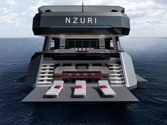 Kyron Design révèle le concept du yacht d'expédition de 70 mètres Nzuri