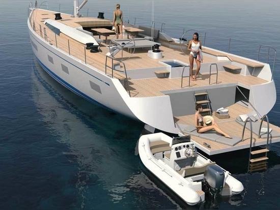 Nautor's Swan dévoile le modèle de voilier Maxi Swan 88