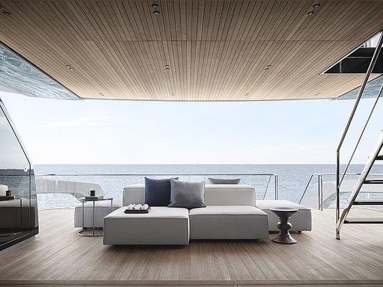 La villa qui flotte : À bord du modèle SX112 de 34m de Sanlorenzo