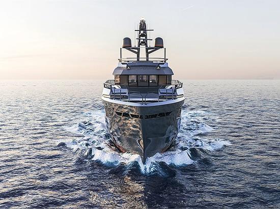 Le yacht de 33m ROCK XL ajouté à la série ROCK par Vripack