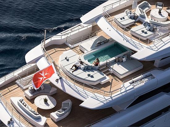 A bord d'O'Pari : le nouveau superyacht de 95 m de Golden Yachts