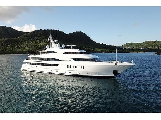Le yacht à moteur Lürssen Avanti de 62 millions d'euros sur le marché