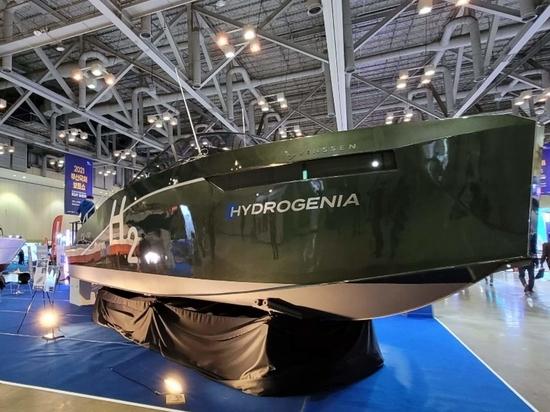 Le premier bateau à hydrogène commercialisé en Corée du Sud est dévoilé