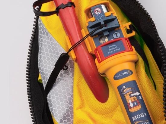 Le rescueME MOB1 est 30% plus petit que d'autres produits semblables