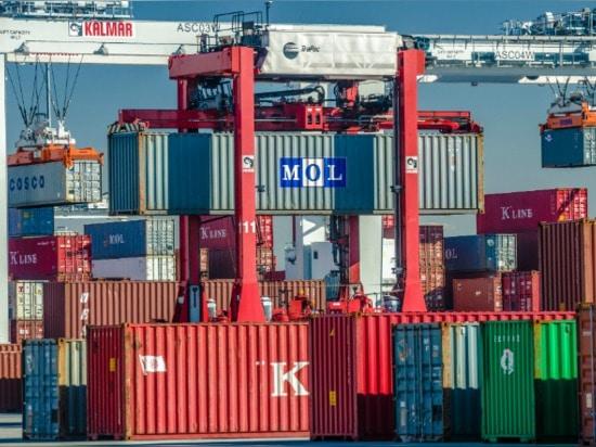 Kalmar lance de nouveaux produits, reçoit des commandes de grue